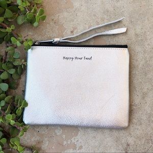 Aimee Kestenberg Happy Hour Fund Silver Pouch
